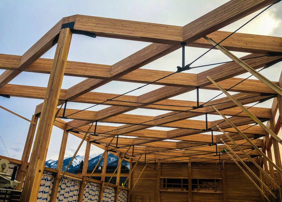 Mass Timber, Glulam